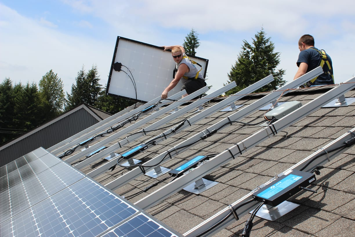 Solar Program Grow Community Bainbridge One Planet Living