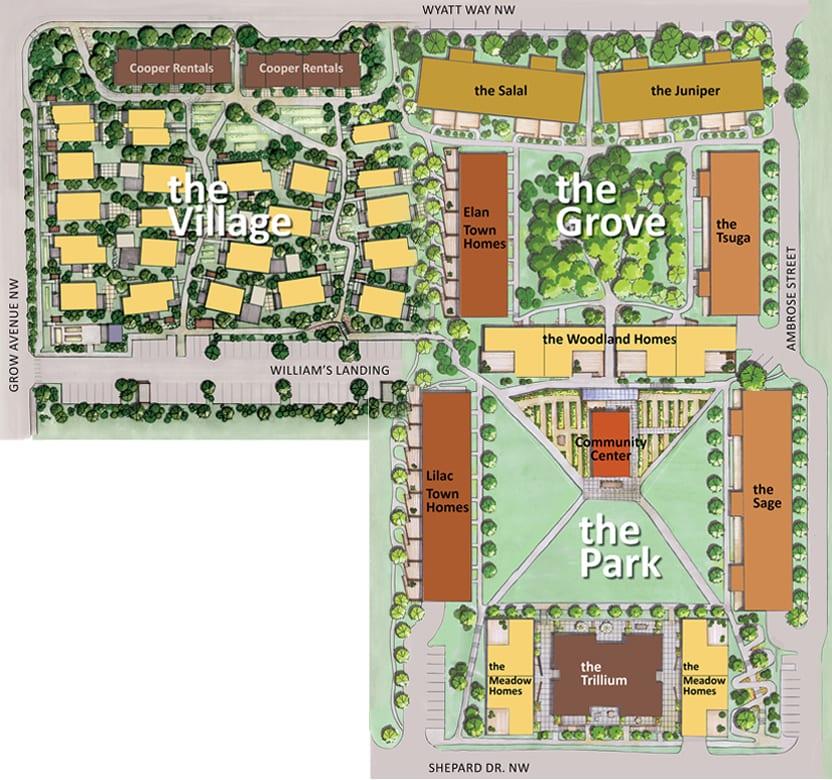Home Sales Begin For New Grove Neighborhood In Grow